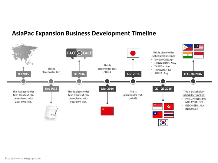 Asia business development template strategy powerpoint templates asia business development template friedricerecipe Image collections